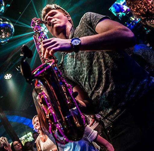Saxophonist Thomas